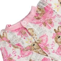 Человечек для недоношенных детей Зайки в розовом + шапочка