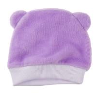 Человечек для недоношенных детей ВЕЛЮРОВЫЙ лиловый + шапочка