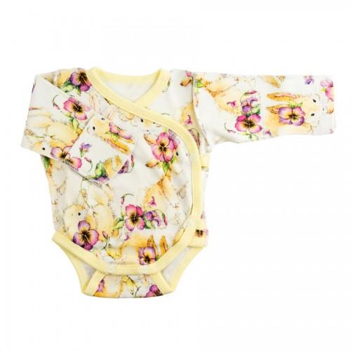 Бодик для недоношенных детей Зайки с цветочками