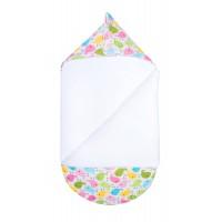 """Летний конверт для новорожденного GOFORKID """"Яркие волны"""""""