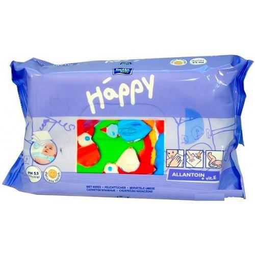 Влажные салфетки Bella Happy с витамином Е, 64 шт.