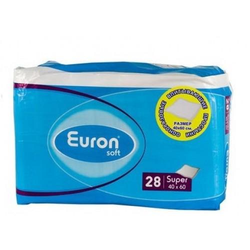 Одноразовые пеленки Euron Extra 40х60, 28 шт.