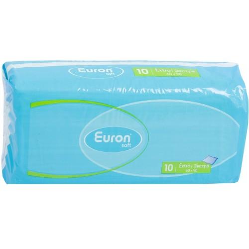Одноразовые пеленки Euron Extra 60х90, 10 шт.
